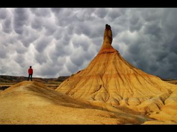 Необычные облака Mammatus. Вымеобразные или трубчатые облака