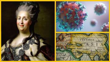 Екатерина II. Биологическое оружие 18 века