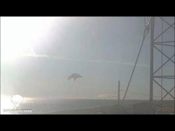 Погодная веб-камера на Аляске запечатлела похожий на огромную рыбу НЛО