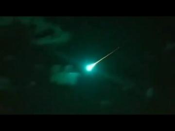 Крупный метеорит замечен над Мексикой. Найдено место падения! 6 октября 2020 года