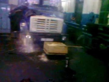 Призрак в Челябинске видео