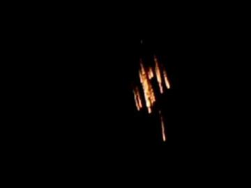 Аномальные взрывы в небе над Бразилией