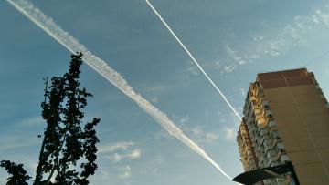 Химтрейлы или след от самолетов, часть 2. Краснодар, 14 ноября