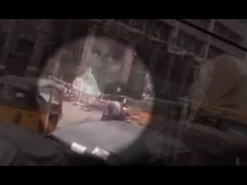 Ангел попал на видео