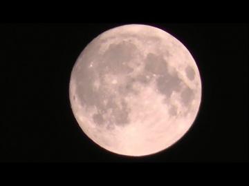 НЛО около Луны в Липецке