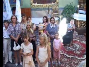 Привидение на видео, заснятом в церкви украинского села