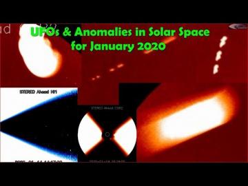 НЛО и аномалии в солнечном пространстве за январь 2020 года