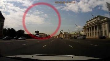 НЛО над Москвой видео