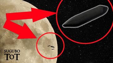 На Луне появились корабли инопланетян