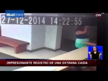 Жительницу Чили сбил с ног невидимка