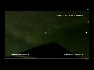 НЛО замечен над вулканом Попокатепетль