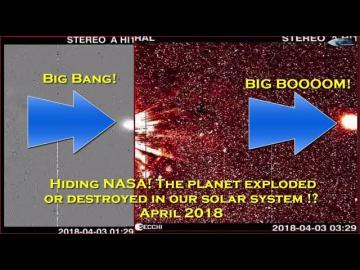 Сокрытие NASA! Планета взорвалась или уничтожена в нашей солнечной системе!? Апрель 2018