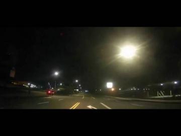 Падение метеорита над штатом Орегон США