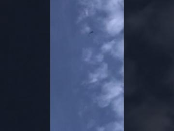 В Нью-Йорке на видео сняли змееобразный НЛО