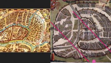 Противоречия в картах Москвы 16-18 веков