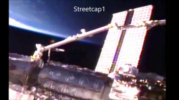 NASA ухудшило качество видео, когда с МКС появился НЛО
