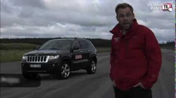 Видео НЛО во время тестирования джипа