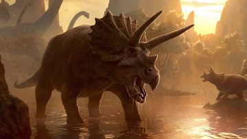 ТОП 10 самых опасных динозавров