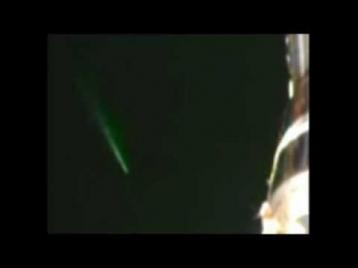Видео треугольный НЛО возле МКС