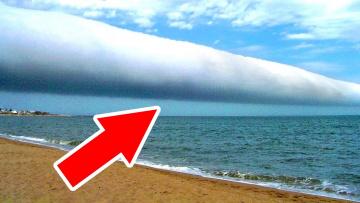 Если увидите такие облака, будьте предельно осторожны!