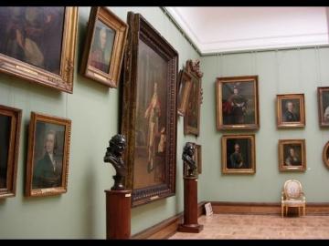 Ожившие картины Третьяковской галереи. Городские легенды