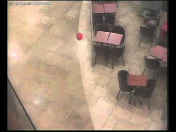 Невидимка с красным шариком