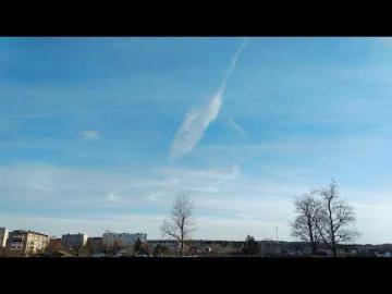 Химтрейлы 17.04.2019 Краснозаводск