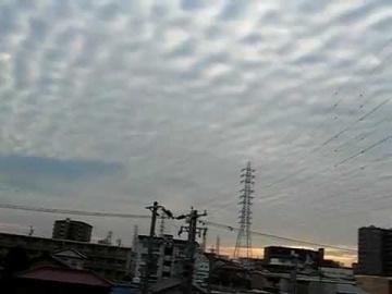 Искусственные облака в Японии 20.11.2009