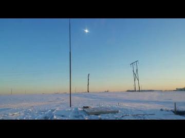 НЛО в Якутии или световой эффект?