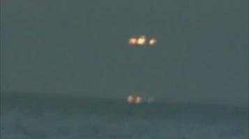 НЛО ворует медуз из океана видео