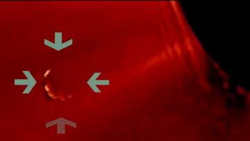 NASA опубликовало видео НЛО на орбите солнца