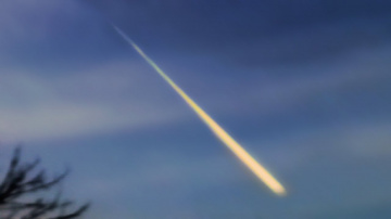 Метеор над Уралом / 19.11.2017