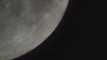 На Луне зафиксировали полет огромного НЛО