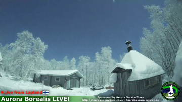 падение метеориты в Лапландии