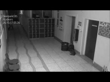 В школе ирландского города Корк снова засняли призрака