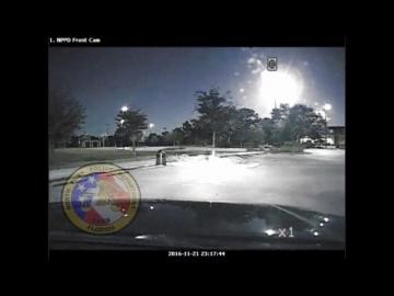 Падение метеорита во Флориде США