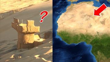 Вы не поверите, что похоронено под Сахарой