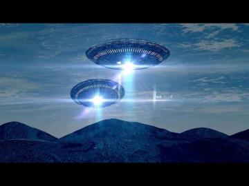 Странный пульсирующий объект в небе
