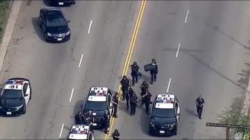 Странная сущность отделилась от полицейского