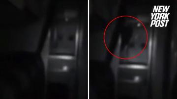 Чёрный призрак в салоне самолета