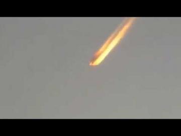 В США упал огненный метеорит